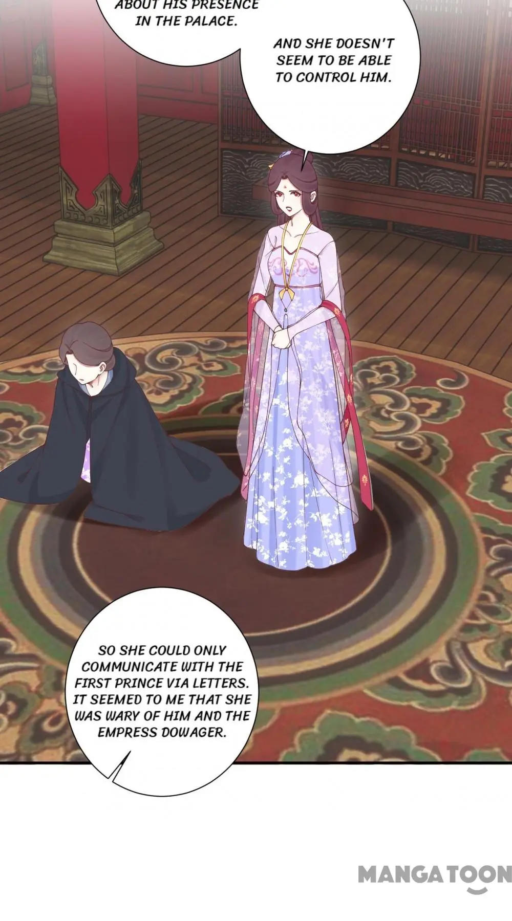 The Queen Is Busy Chapter 165 page 35 - Mangakakalots.com