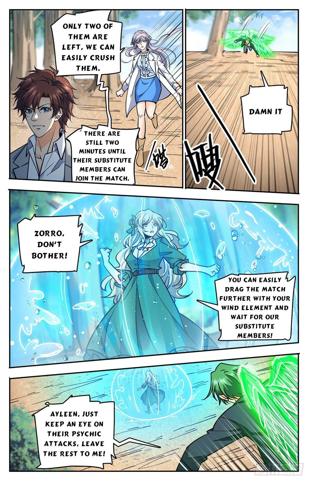 Versatile Mage Chapter 731 page 8 - Mangakakalots.com