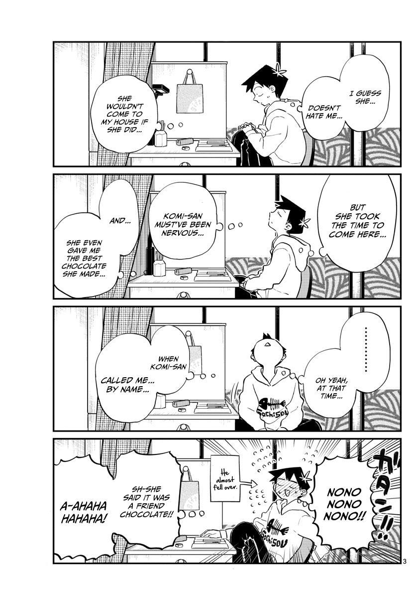 Komi-San Wa Komyushou Desu Vol.9 Chapter 126: Friend Chocolate page 3 - Mangakakalot