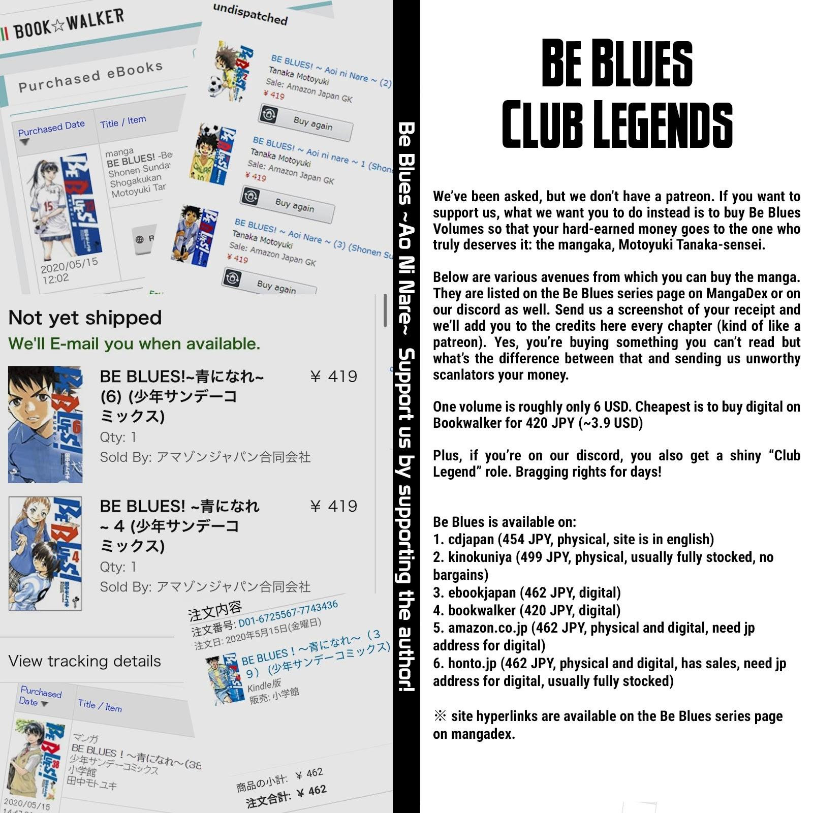 Be Blues ~Ao Ni Nare~ Chapter 455: Settling Scores page 20 - Mangakakalots.com