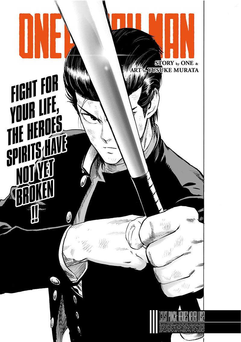 Onepunch-Man Chapter 131: Heroes Never Lose page 1 - Mangakakalots.com