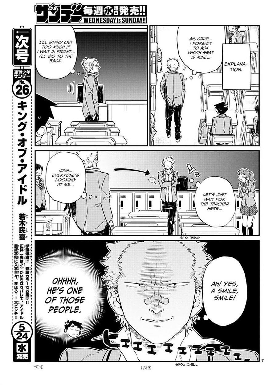 Komi-San Wa Komyushou Desu Vol.6 Chapter 76: A Delinquent page 7 - Mangakakalot