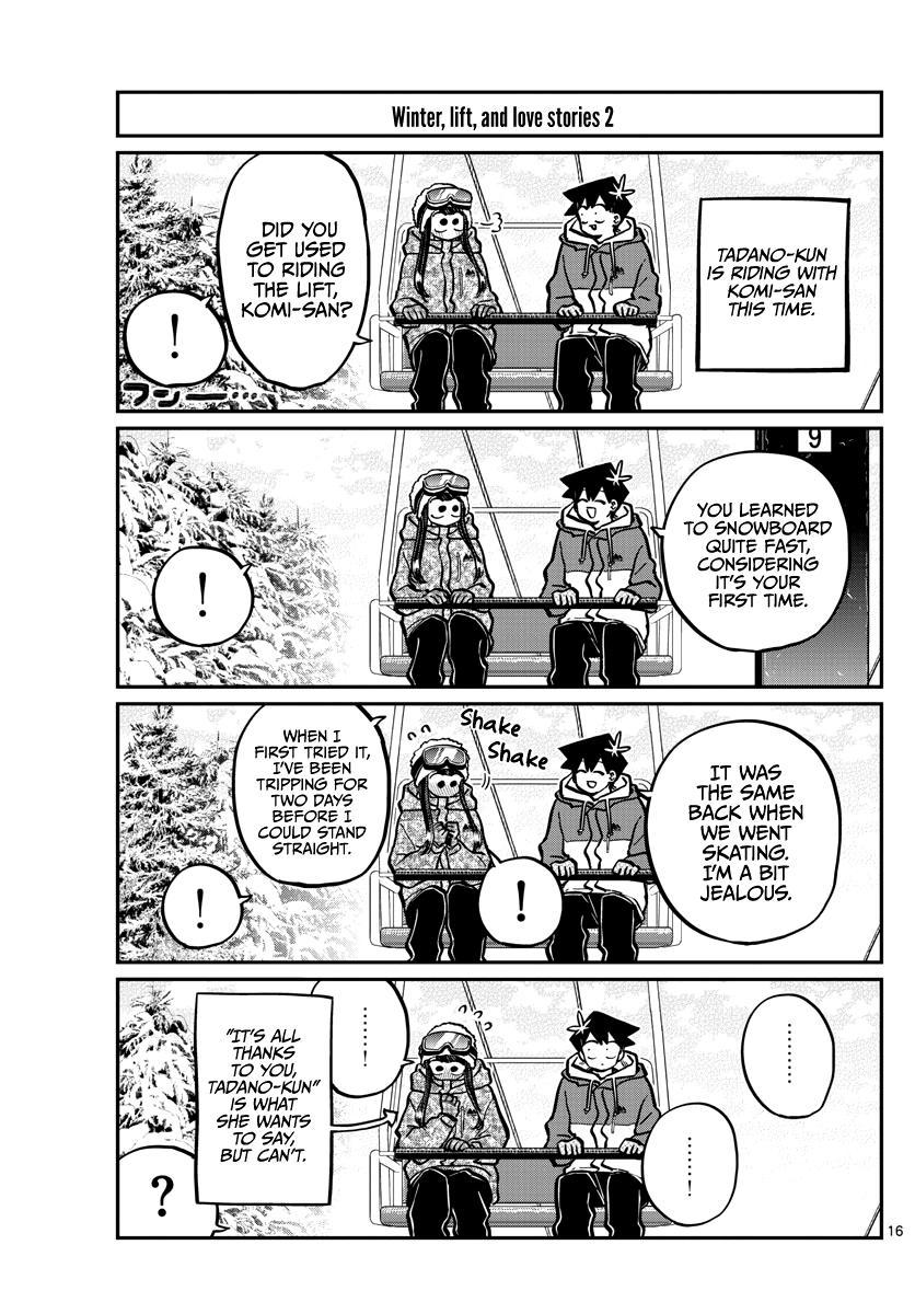 Komi-San Wa Komyushou Desu Chapter 268: Talking About Skiing page 15 - Mangakakalot