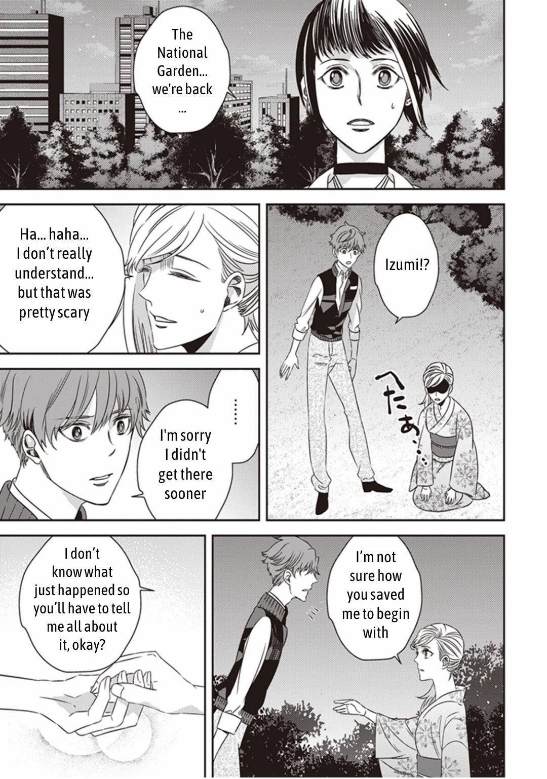 Midnight Occult Civil Servants Chapter 11.2: Demon And Sense Of Loss (Part 4) page 22 - Mangakakalots.com