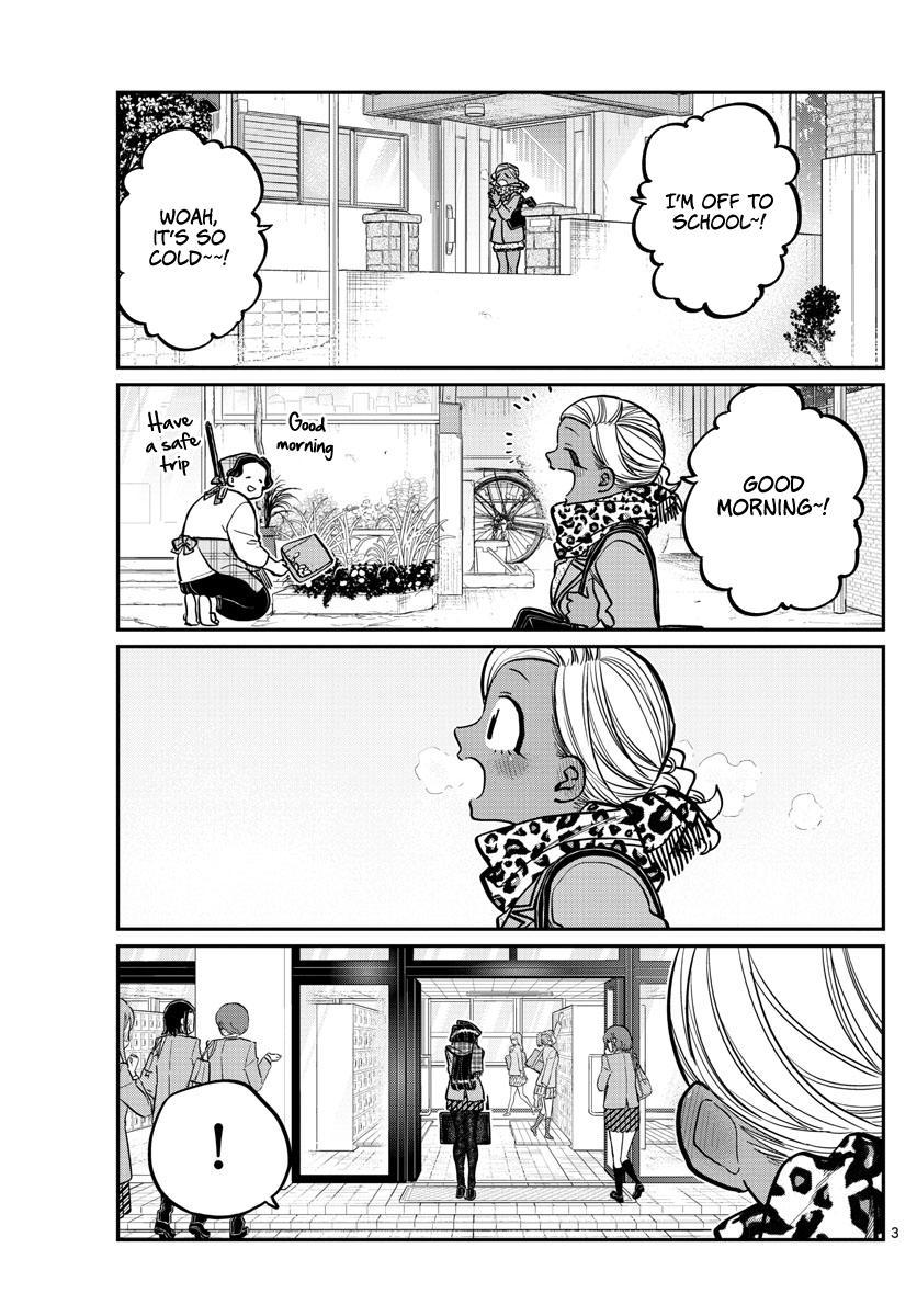 Komi-San Wa Komyushou Desu Chapter 255: Pocket Heater page 3 - Mangakakalot