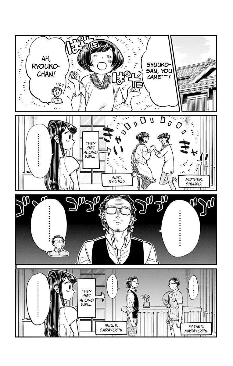 Komi-San Wa Komyushou Desu Vol.3 Chapter 45: Obon Festival page 6 - Mangakakalot