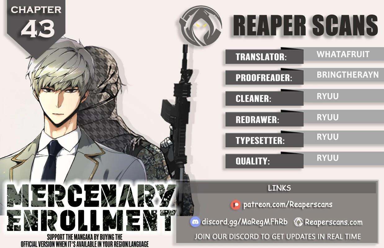Mercenary Enrollment Chapter 43 page 1 - Mangakakalots.com