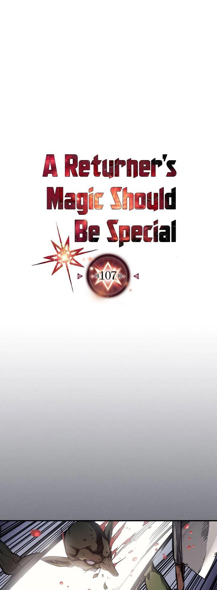 A Returner's Magic Should Be Special Chapter 107 page 2 - Mangakakalots.com