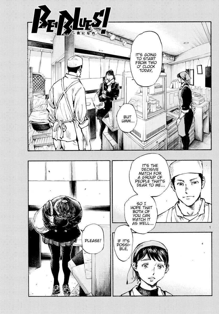 Be Blues ~Ao Ni Nare~ Chapter 455: Settling Scores page 2 - Mangakakalots.com
