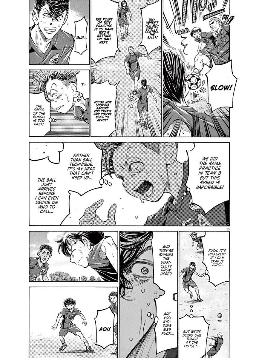 Ao Ashi Vol.12 Chapter 119: Start Line page 13 - Mangakakalots.com