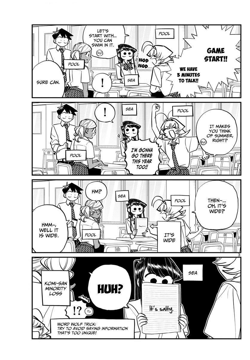 Komi-San Wa Komyushou Desu Vol.11 Chapter 152: Wolf page 3 - Mangakakalot