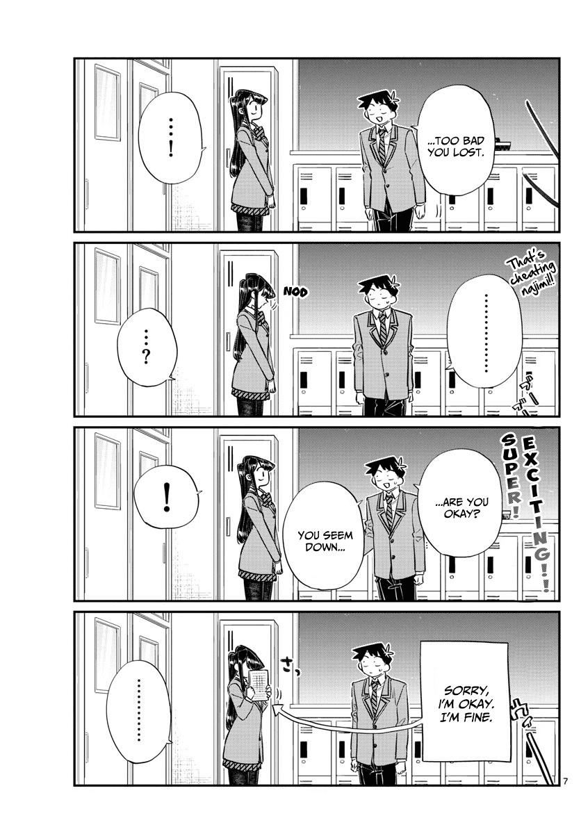 Komi-San Wa Komyushou Desu Vol.10 Chapter 129: One Year page 7 - Mangakakalot