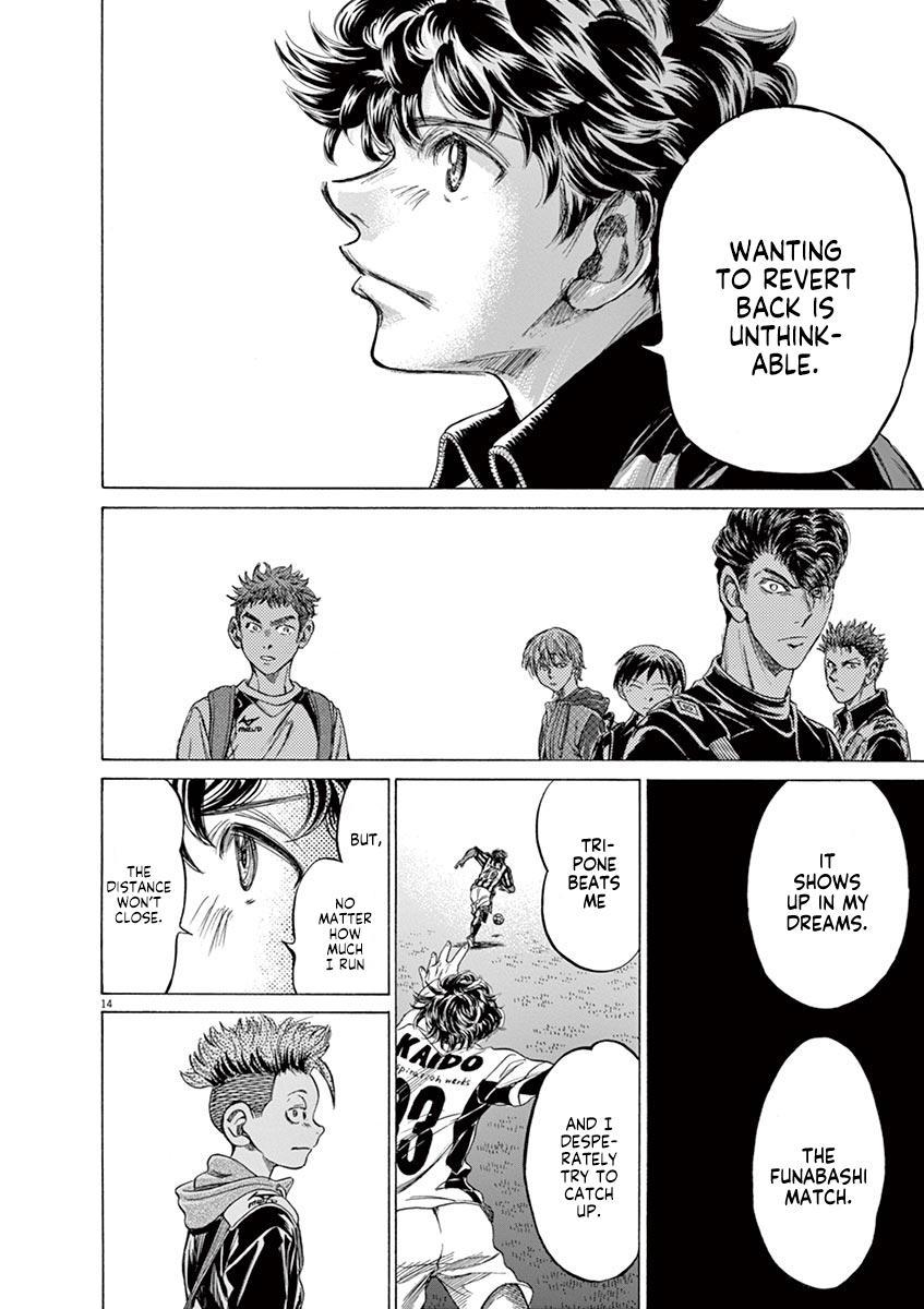 Ao Ashi Vol.21 Chapter 212: Ashito's Situation page 14 - Mangakakalots.com
