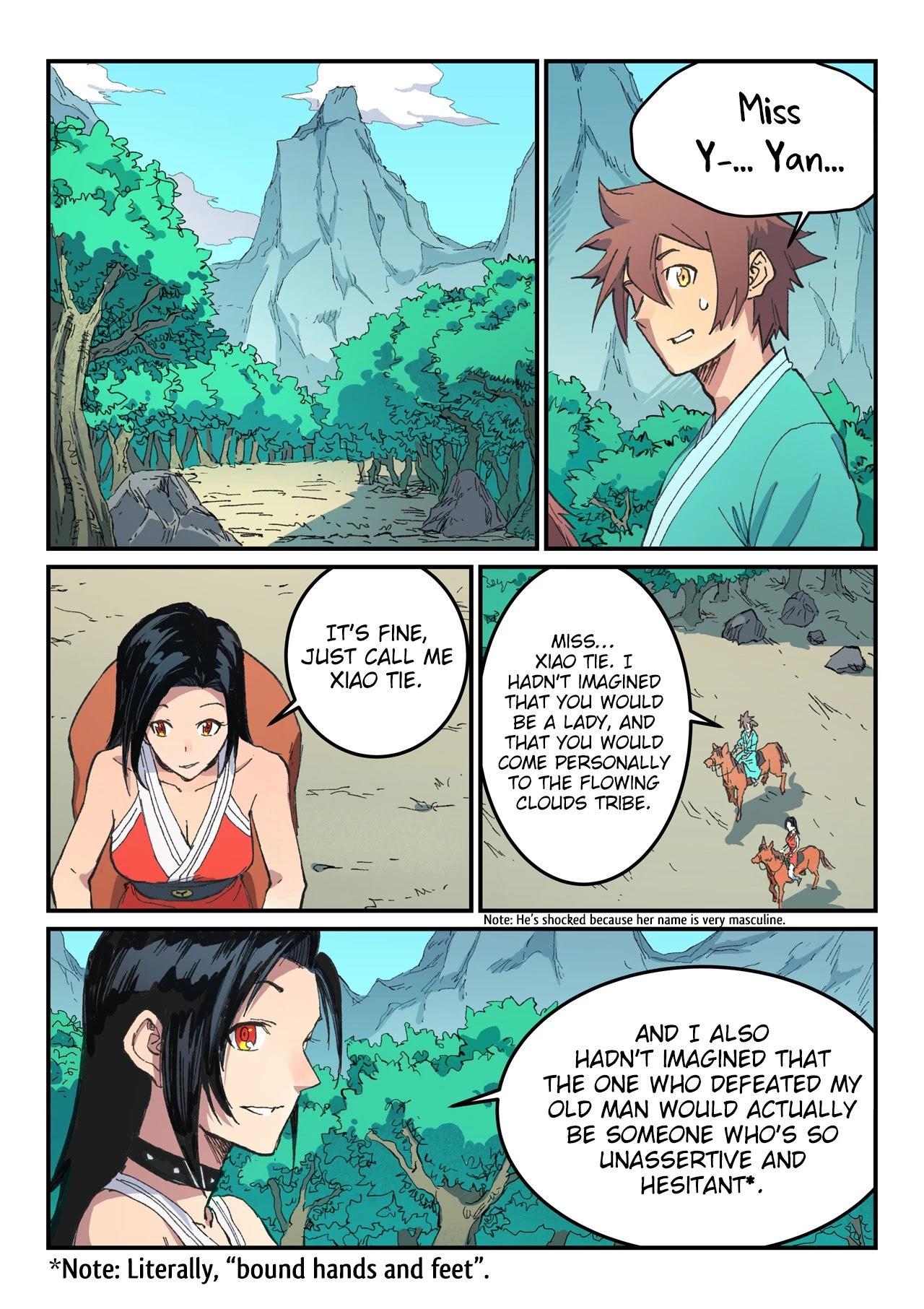 Star Martial God Technique Chapter 482 page 9 - Mangakakalots.com
