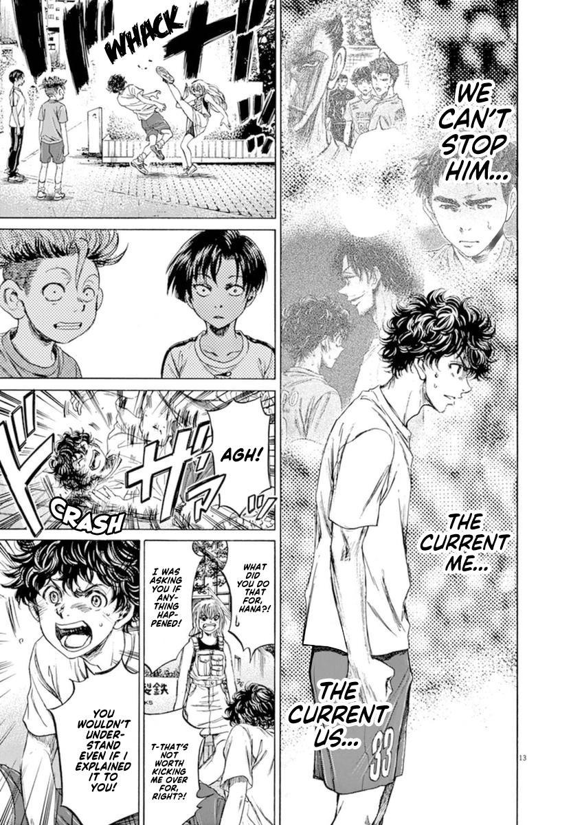 Ao Ashi Vol.9 Chapter 87: Flames Of Desitiny page 14 - Mangakakalots.com
