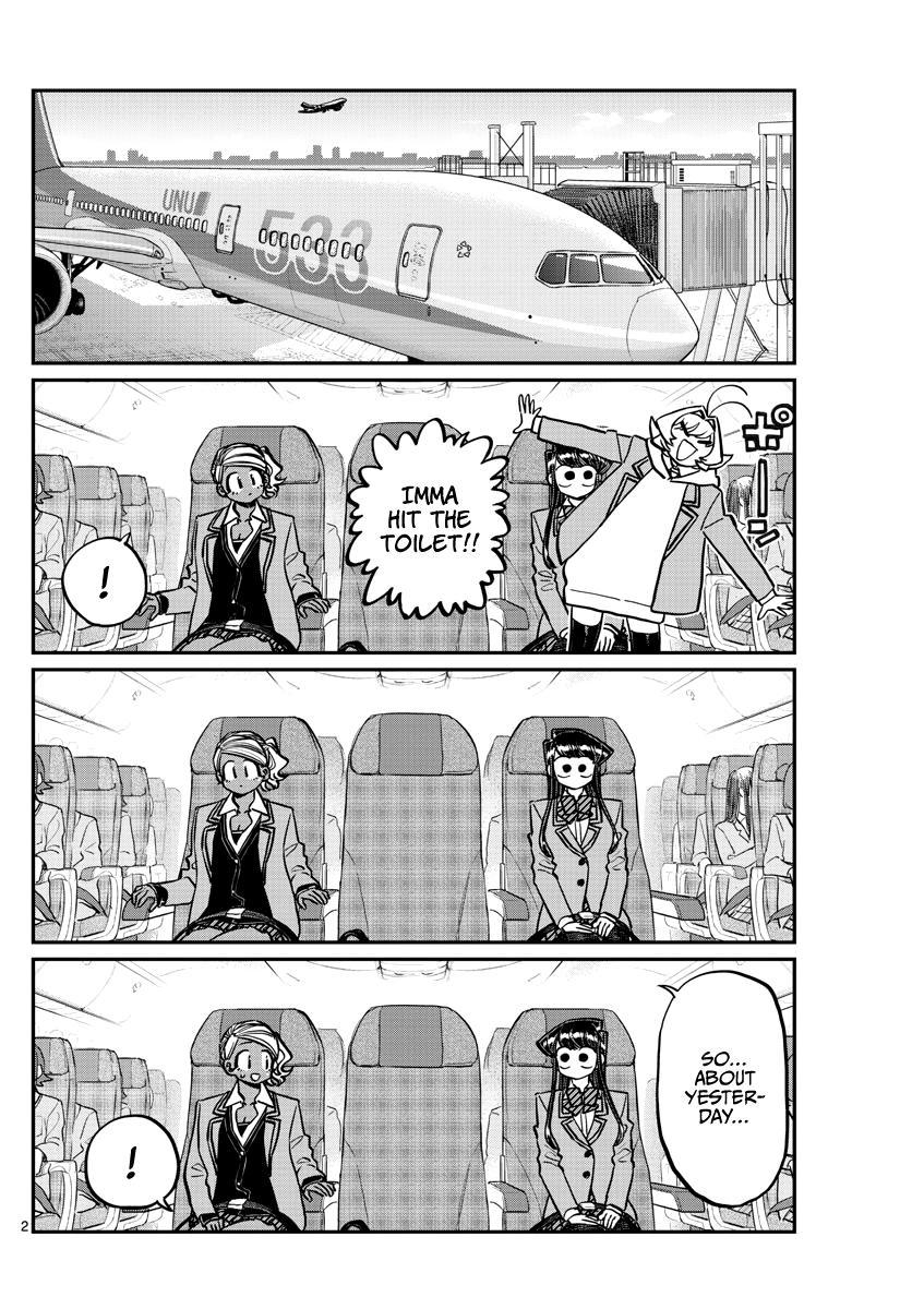 Komi-San Wa Komyushou Desu Chapter 295: Flying Home page 2 - Mangakakalot