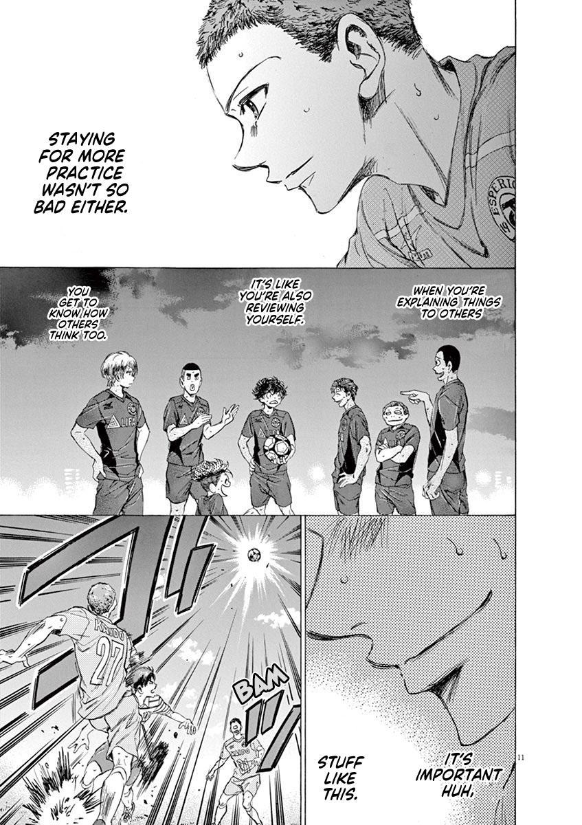 Ao Ashi Vol.10 Chapter 95: Direct Football page 16 - Mangakakalots.com