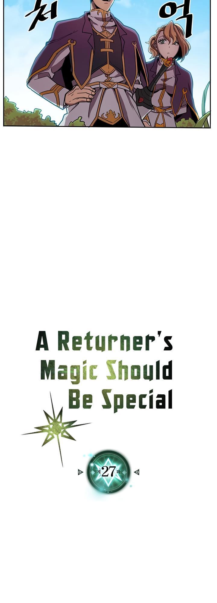 A Returner's Magic Should Be Special Chapter 27 page 3 - Mangakakalots.com