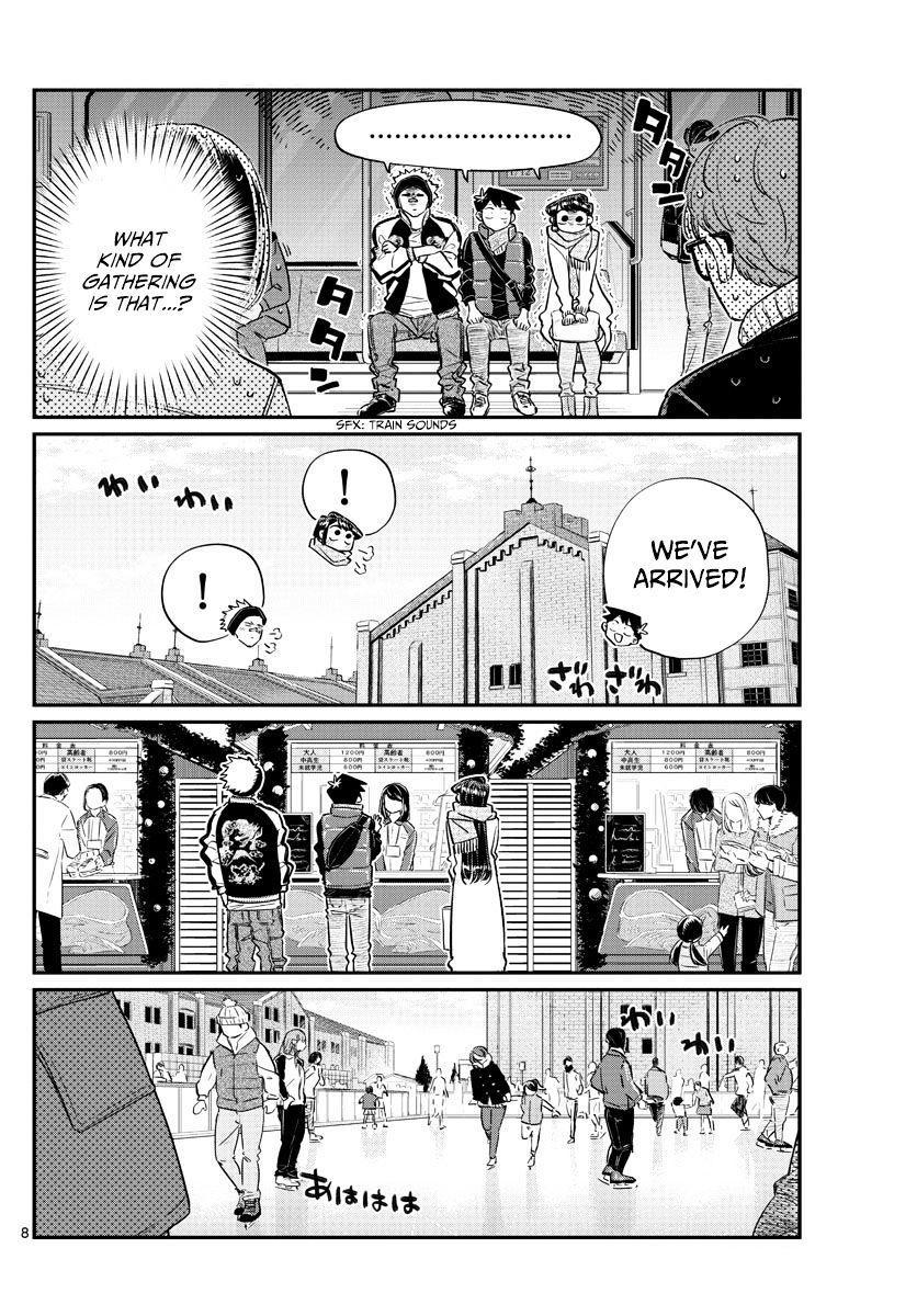 Komi-San Wa Komyushou Desu Vol.7 Chapter 95: Ice Skating page 8 - Mangakakalot