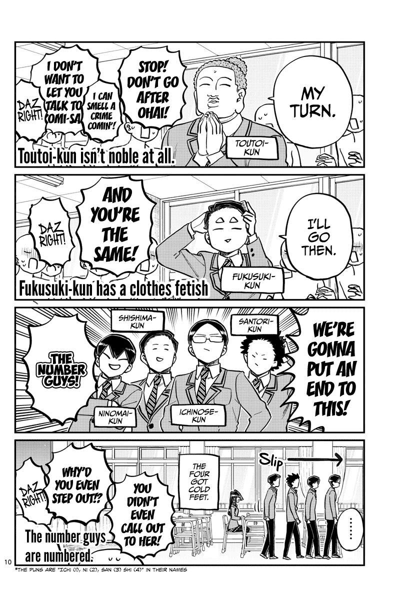 Komi-San Wa Komyushou Desu Chapter 258: Contact page 10 - Mangakakalot