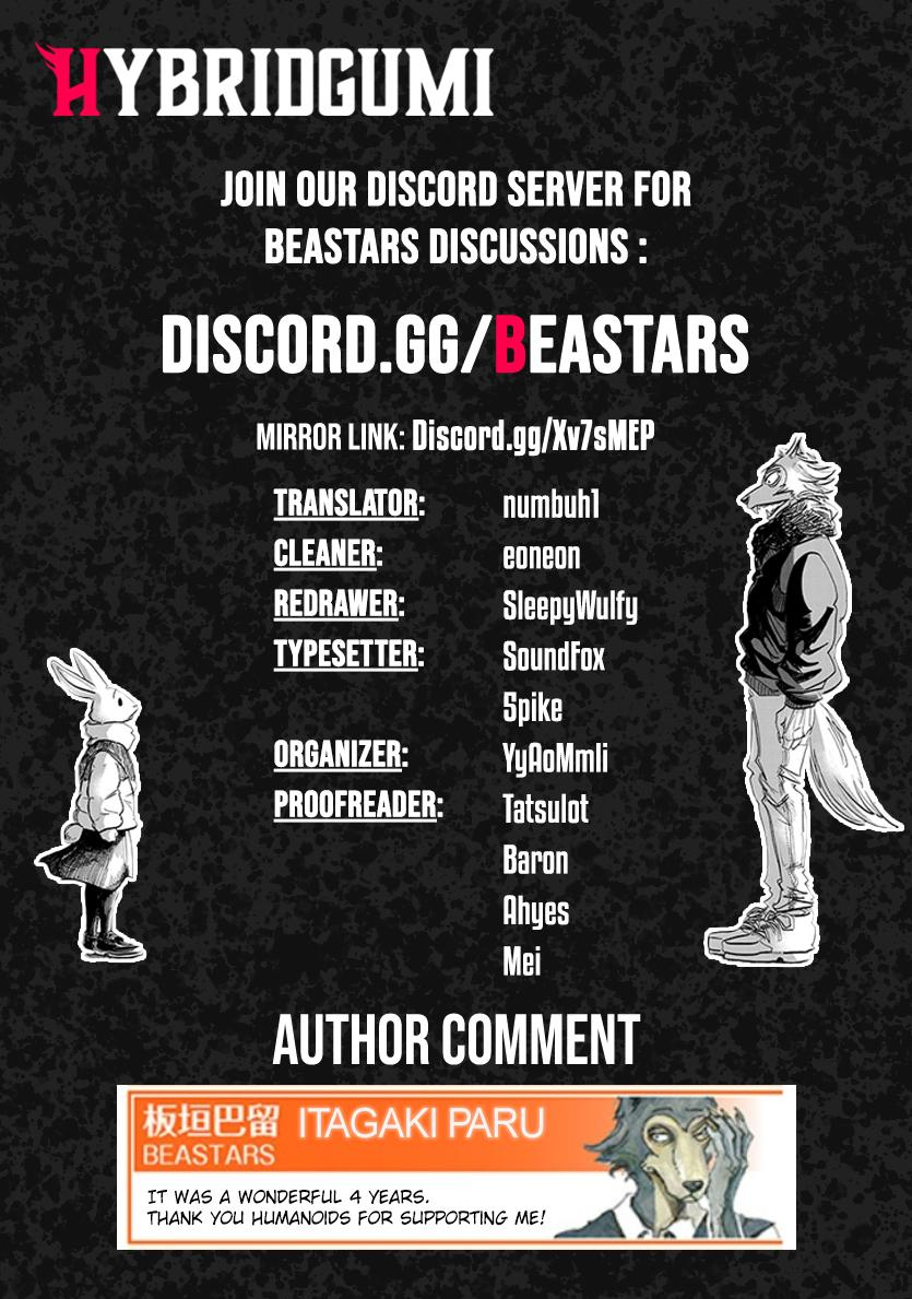 Beastars Vol.22 Chapter 196: The Story Of A Wolf And A Rabbit page 23 - Mangakakalot