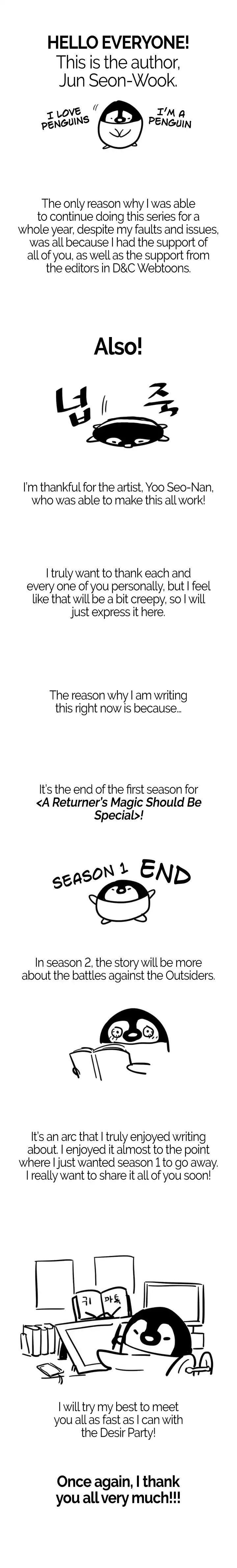 A Returner's Magic Should Be Special Chapter 70: Season 1 [End] page 14 - Mangakakalots.com
