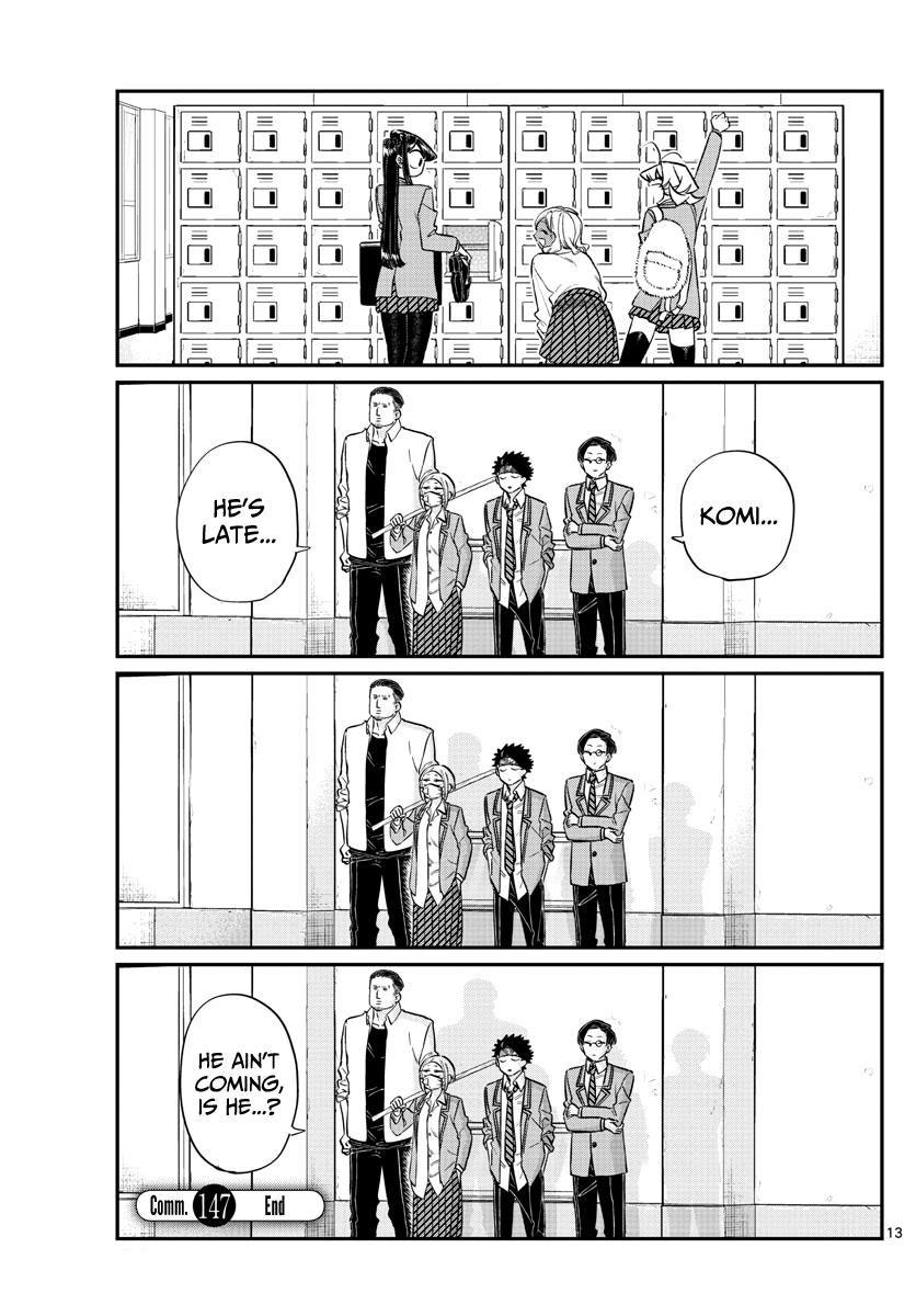 Komi-San Wa Komyushou Desu Vol.11 Chapter 147: Delinquents 3 page 3 - Mangakakalot