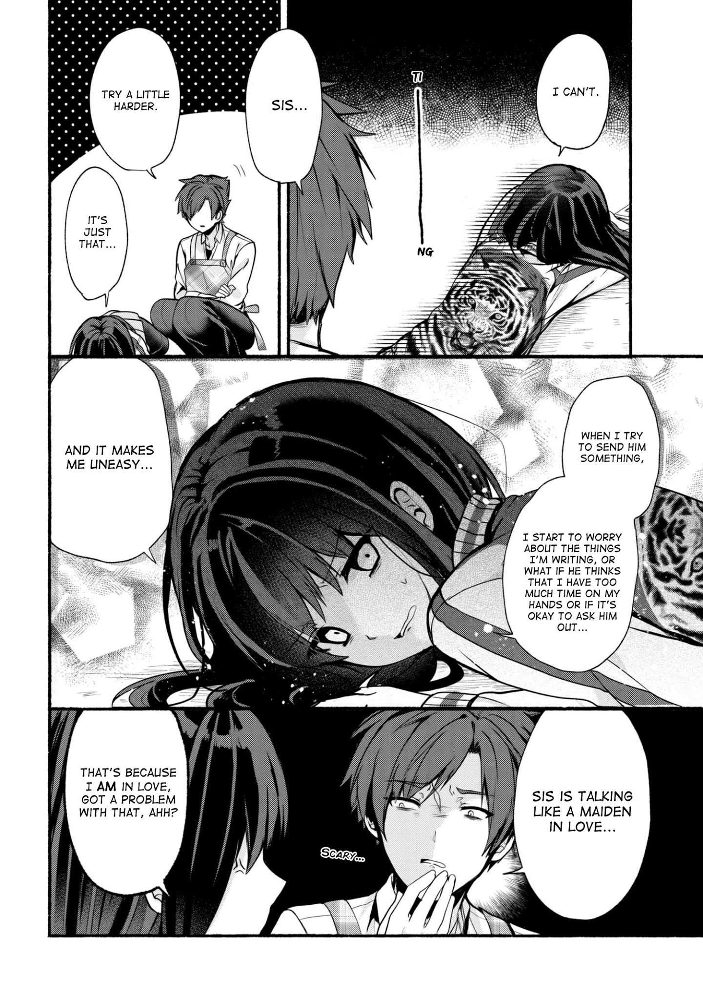 Pashiri Na Boku To Koi Suru Banchou-San Chapter 21 page 7 - Mangakakalots.com