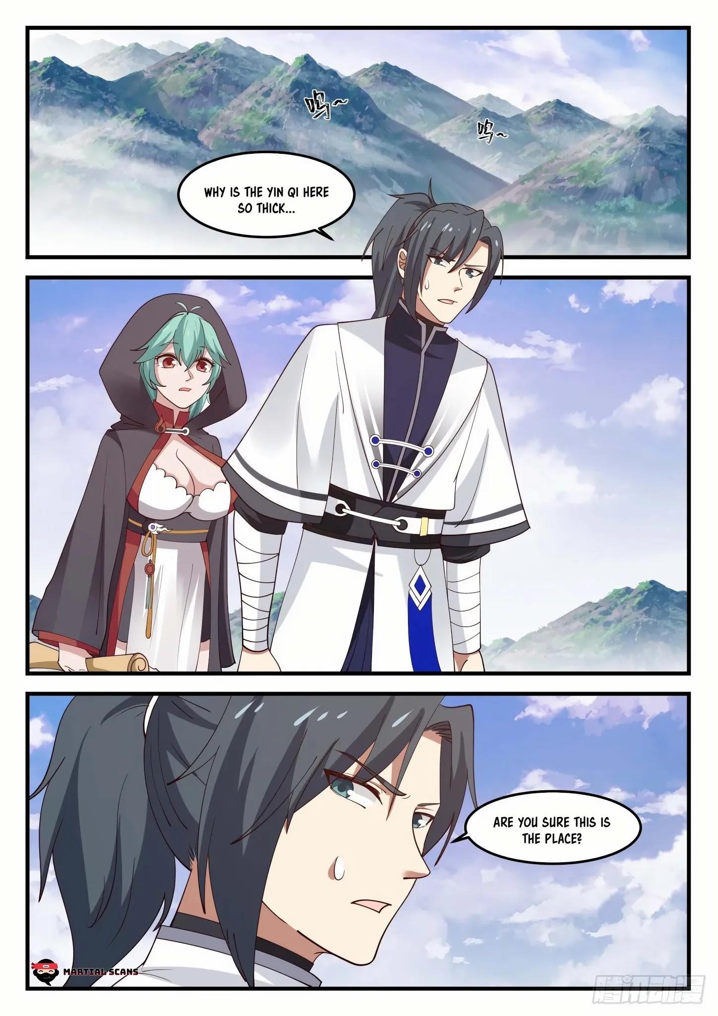 Martial Peak Chapter 1190: Who Is Su Yan? page 9 - Mangakakalots.com