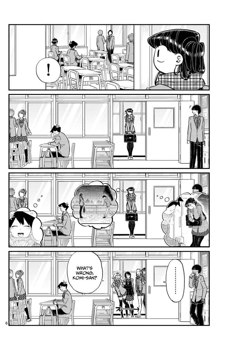 Komi-San Wa Komyushou Desu Vol.9 Chapter 119: After Valentine's page 6 - Mangakakalot