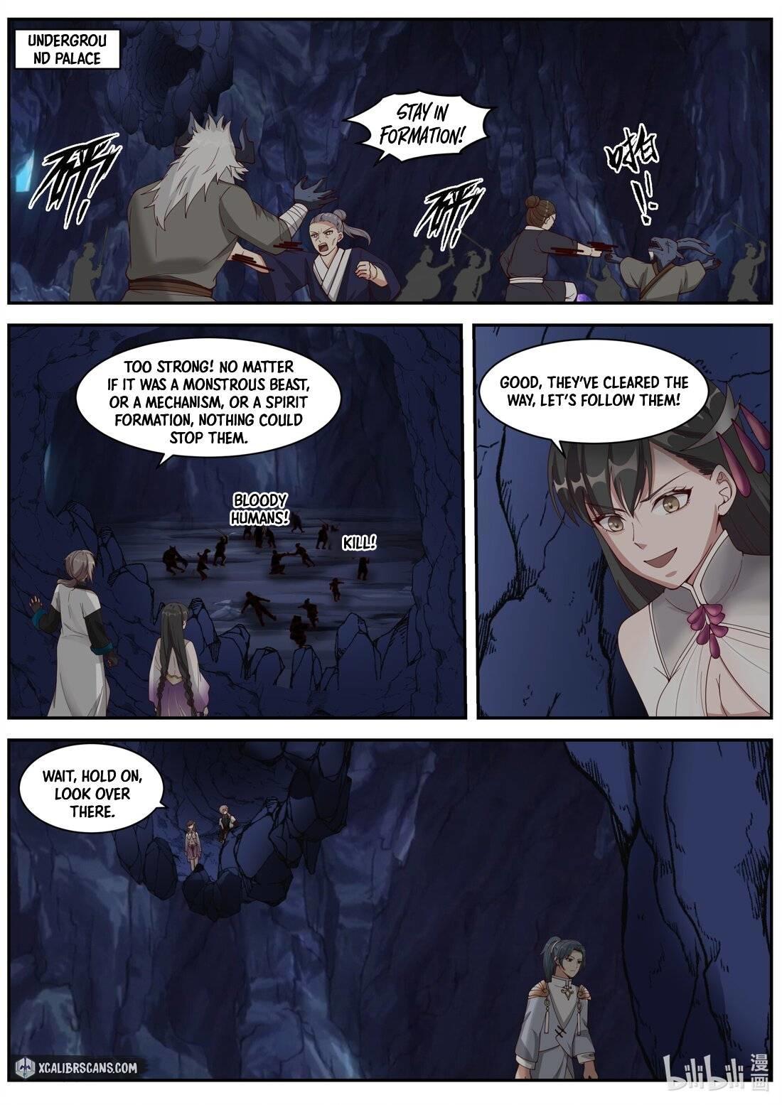 Martial God Asura Chapter 297 page 8 - Mangakakalots.com