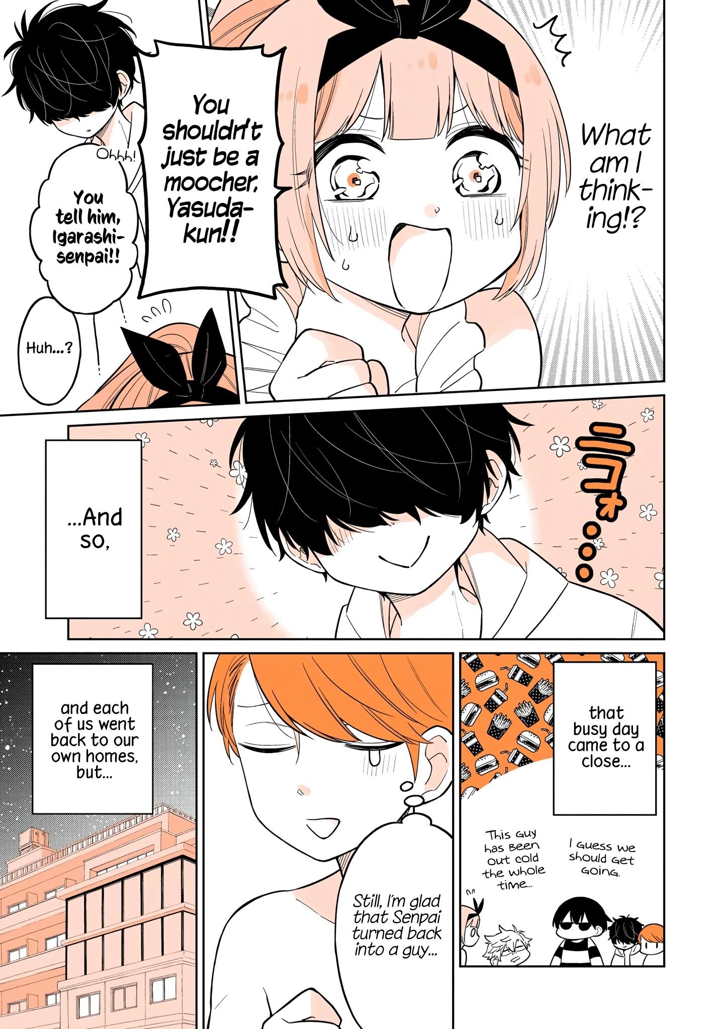A Lazy Guy Woke Up As A Girl One Morning Chapter 16 page 22 - Mangakakalots.com