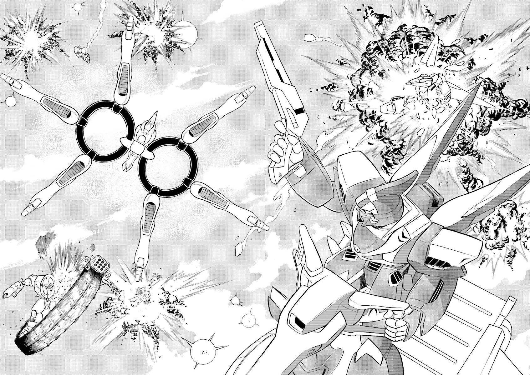 Kidou Senshi Crossbone Gundam Ghost Vol.5 Chapter 19: Jaburo's Thunderclap page 39 - Mangakakalots.com