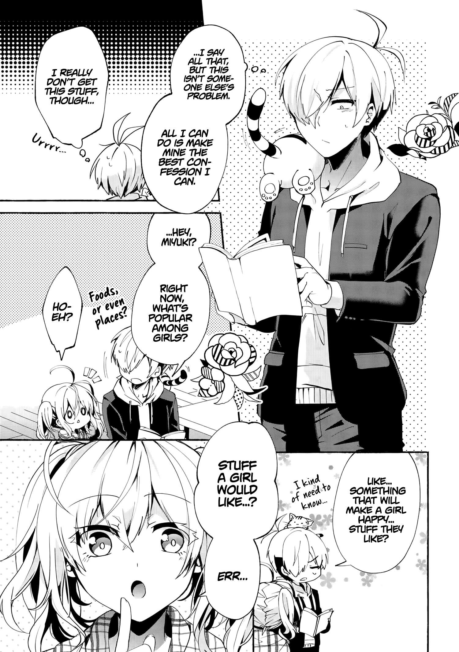 Pashiri Na Boku To Koi Suru Banchou-San Chapter 72 page 9 - Mangakakalots.com