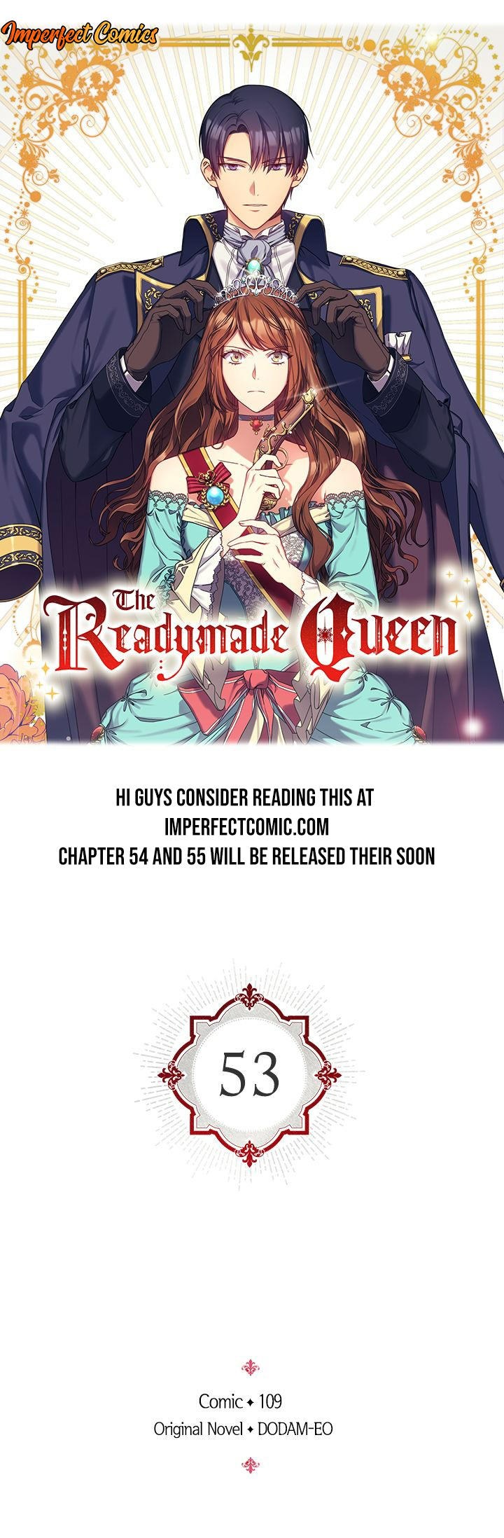 The Readymade Queen Chapter 53 page 1 - Mangakakalots.com