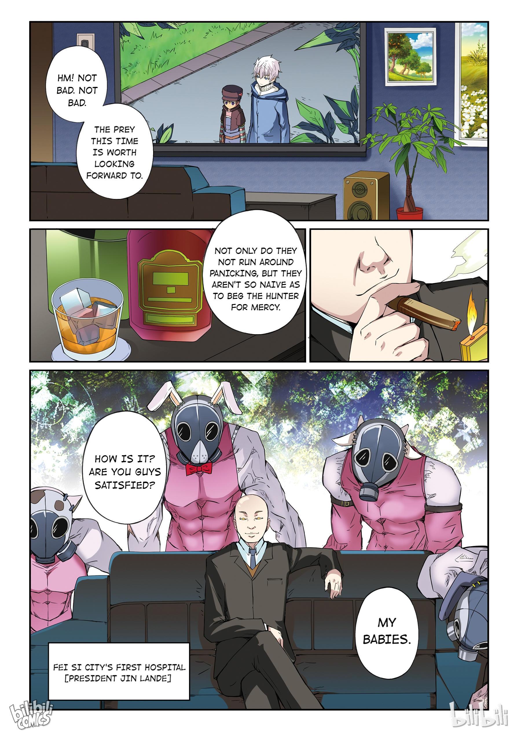 God Of Deception Chapter 25: Scroll 1: Deception Supervisors - Hunting (I) page 12 - Mangakakalots.com