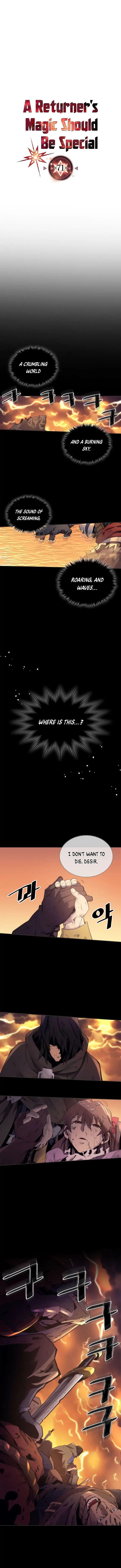 A Returner's Magic Should Be Special Chapter 71 page 2 - Mangakakalots.com
