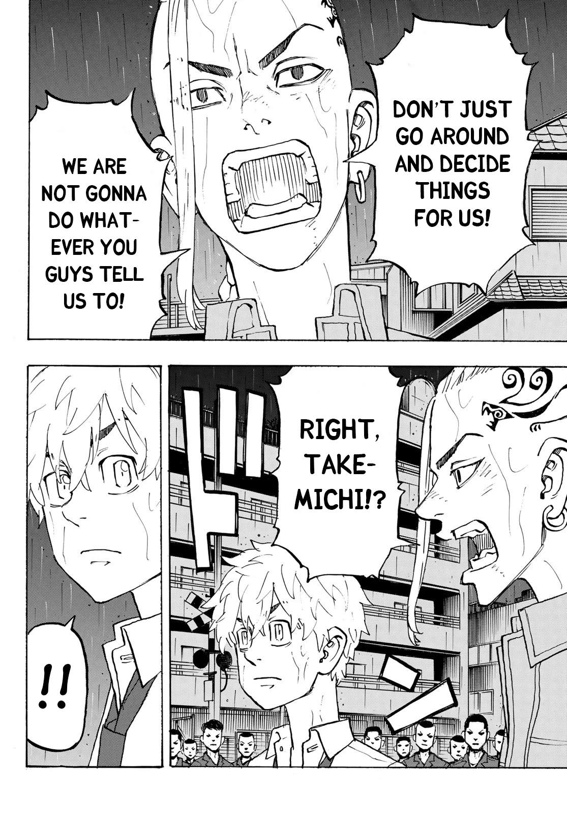 Tokyo Manji Revengers Chapter 214: The Engine Fired page 4 - Mangakakalots.com