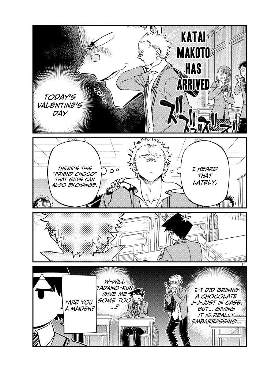 Komi-San Wa Komyushou Desu Vol.9 Chapter 117: Valentine's Day page 11 - Mangakakalot