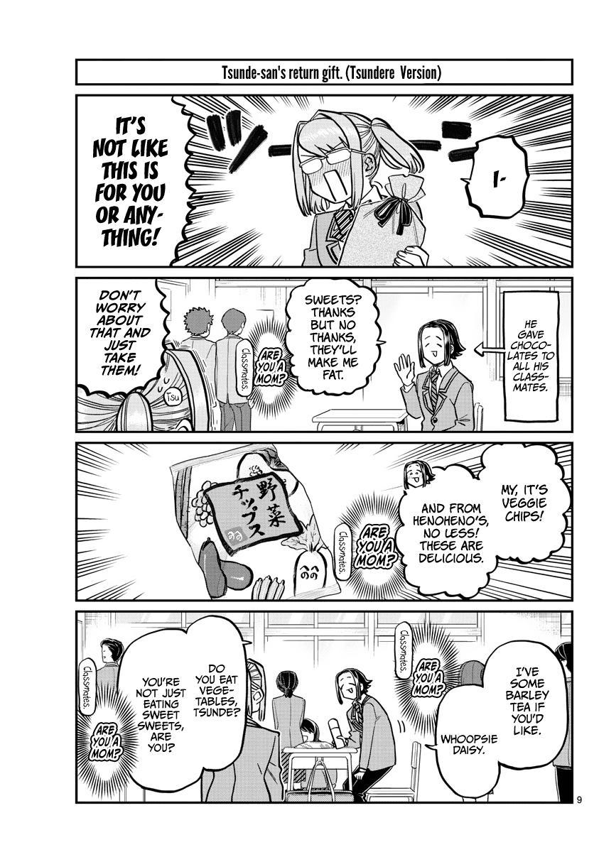 Komi-San Wa Komyushou Desu Chapter 316: Everyone's White Day page 9 - Mangakakalots.com