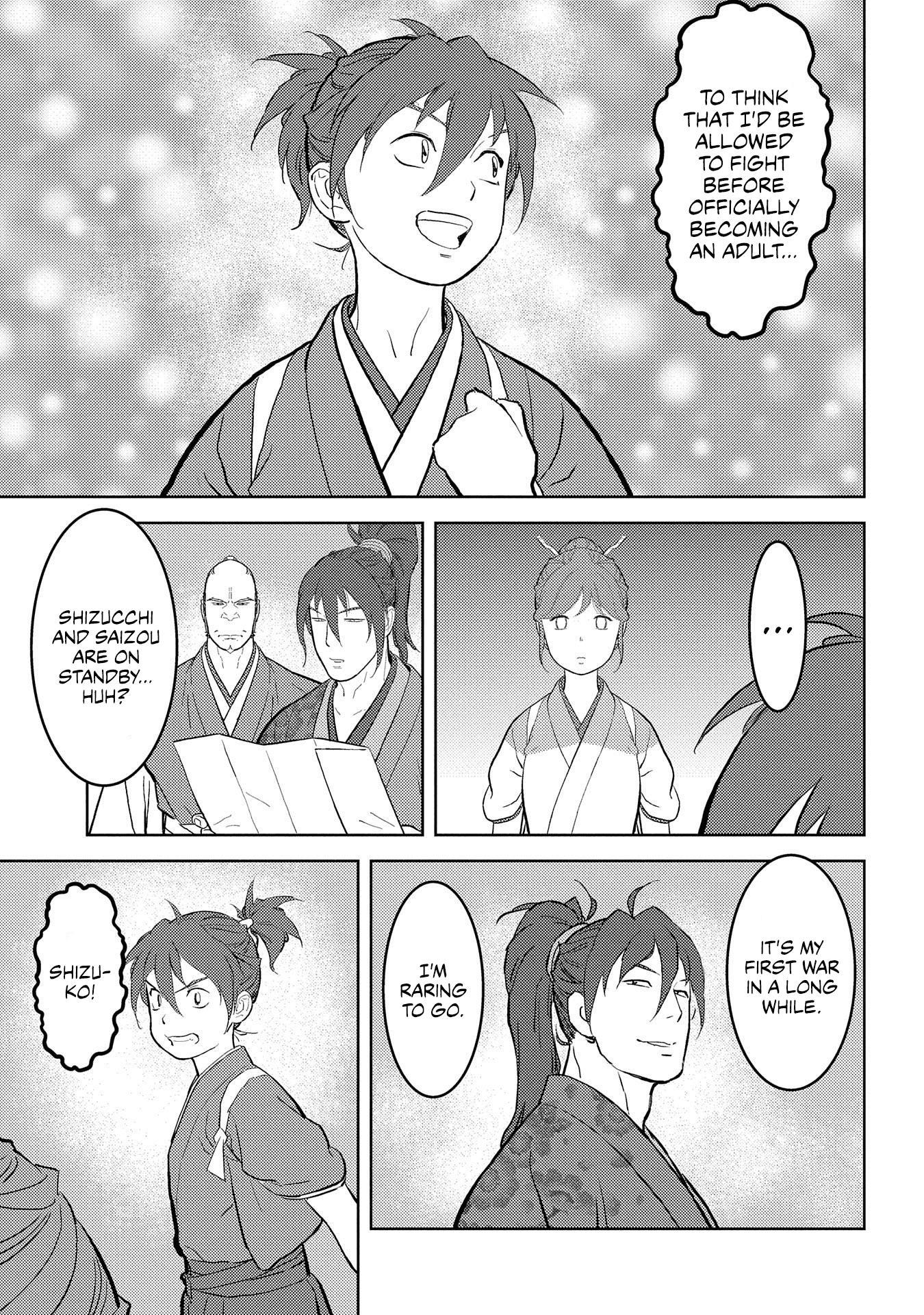 Sengoku Komachi Kurou Tan! Chapter 39 page 6 - Mangakakalots.com