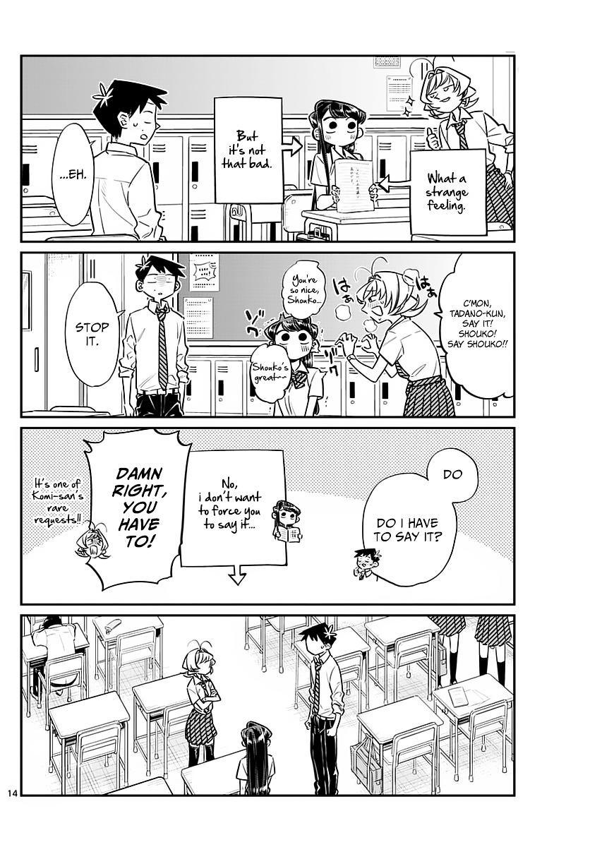 Komi-San Wa Komyushou Desu Vol.4 Chapter 53: Names page 6 - Mangakakalot