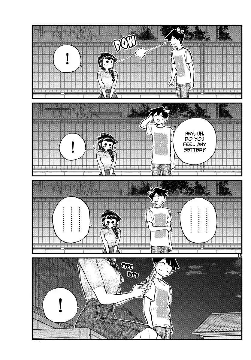 Komi-San Wa Komyushou Desu Vol.13 Chapter 181: Test Of Courage (2) page 15 - Mangakakalot