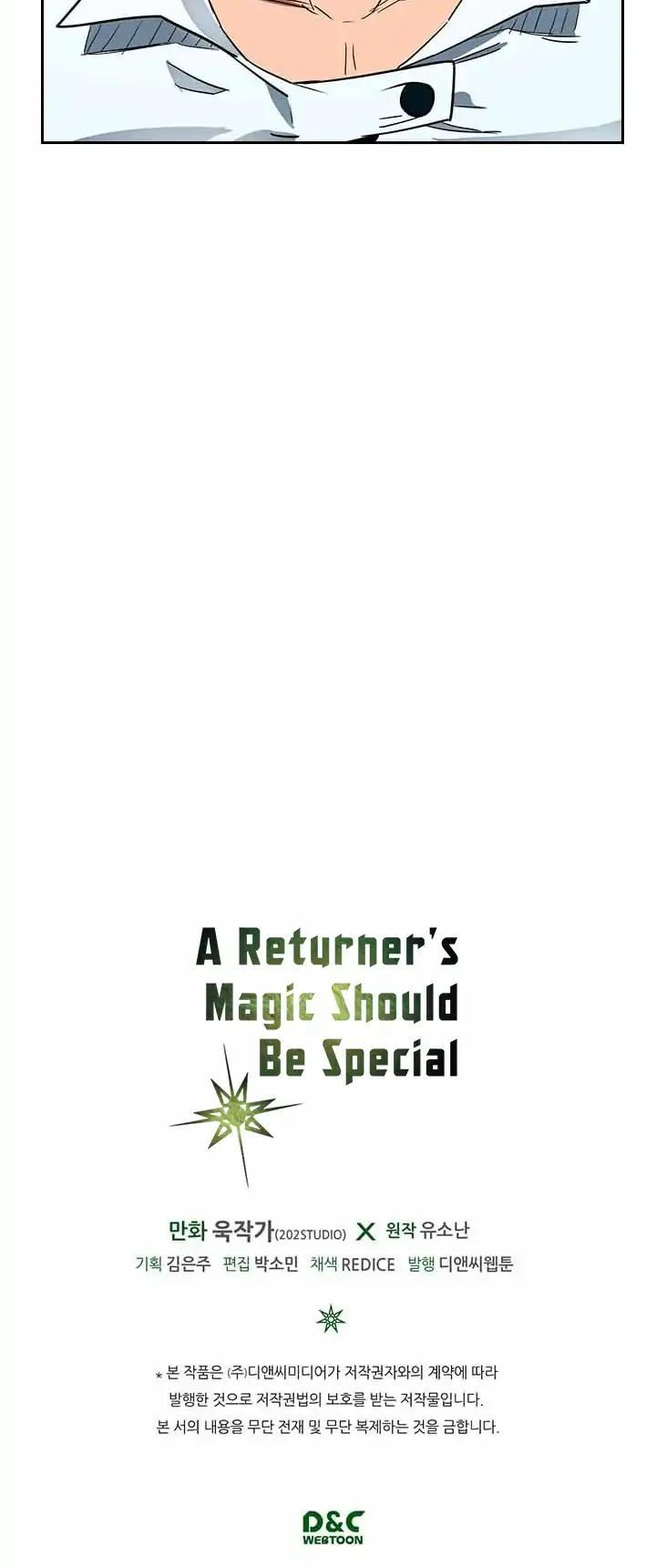 A Returner's Magic Should Be Special Chapter 2 page 34 - Mangakakalots.com