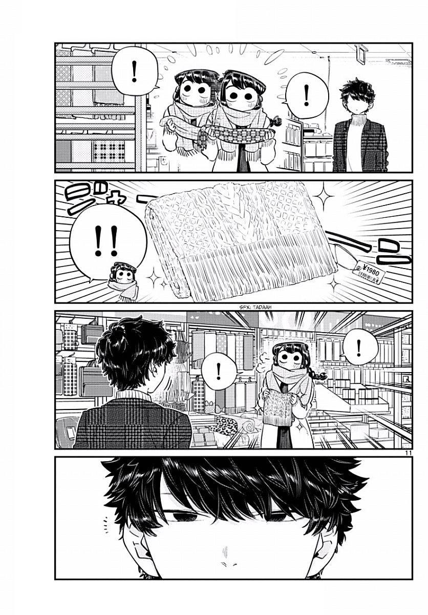 Komi-San Wa Komyushou Desu Vol.7 Chapter 86: Picking Out A Present page 11 - Mangakakalot