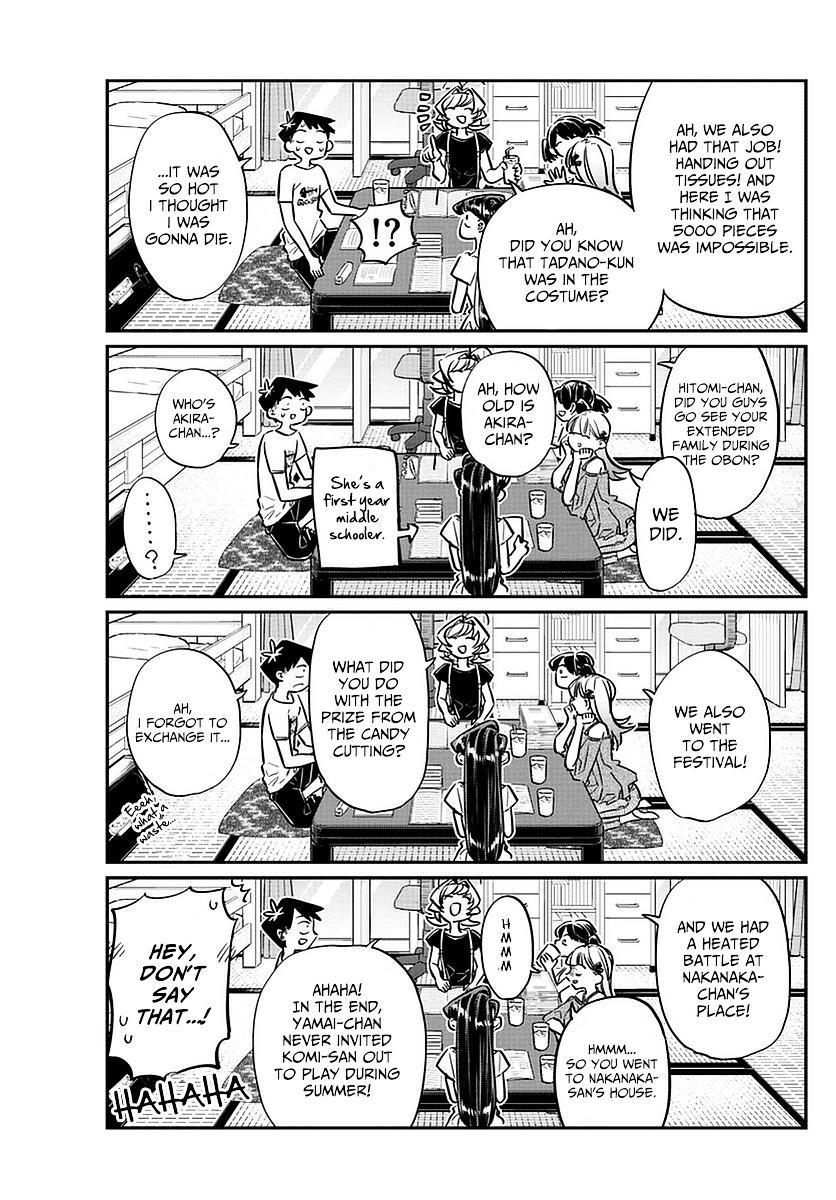 Komi-San Wa Komyushou Desu Vol.4 Chapter 50: The End Of Summer Break page 15 - Mangakakalot