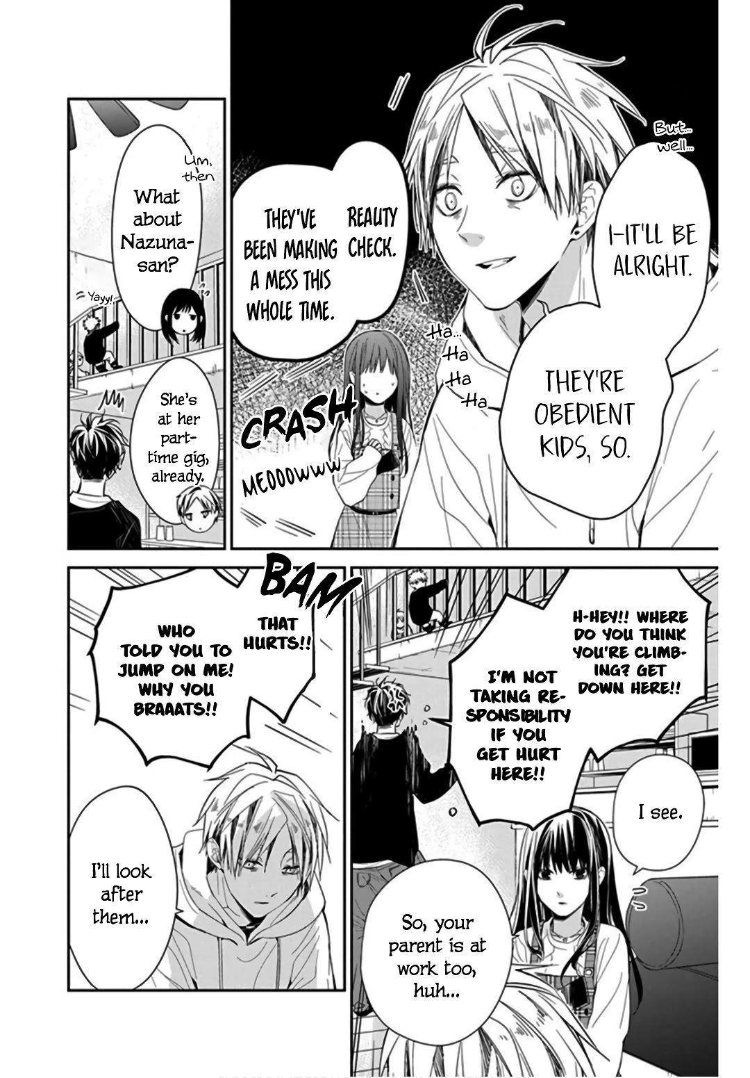 Tsuiraku Jk To Haijin Kyoushi Chapter 36 page 8 - Mangakakalots.com