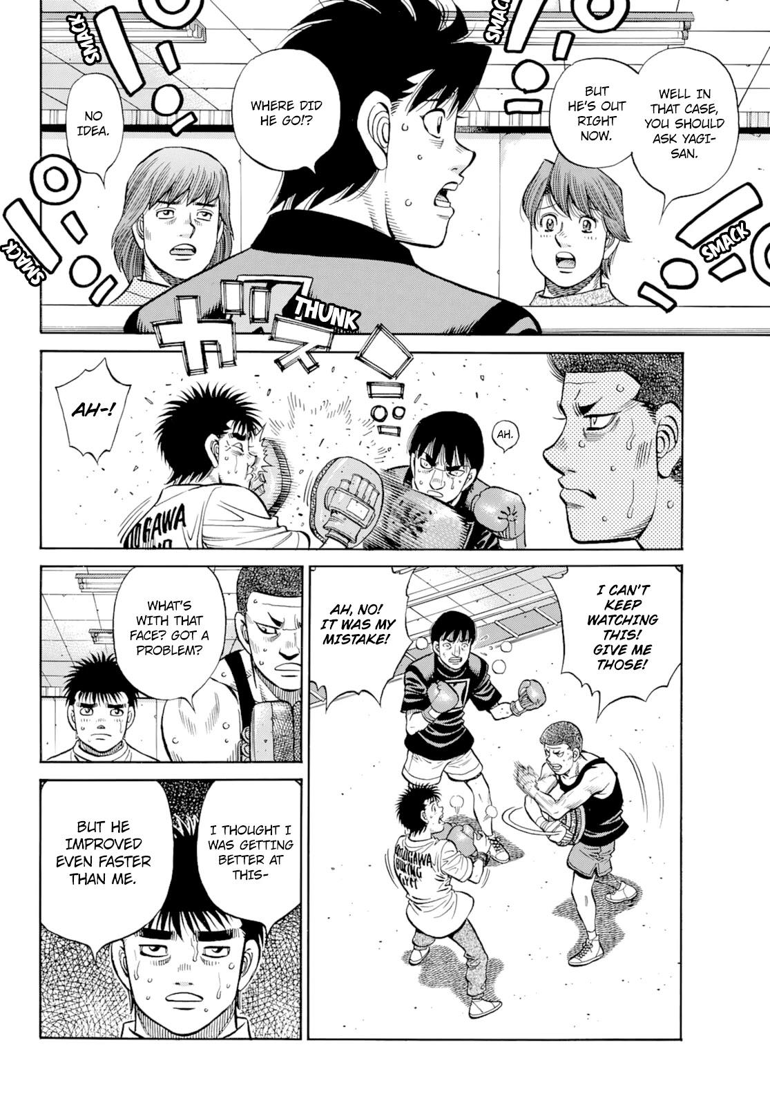 Hajime No Ippo Chapter 1350: Keith's Back page 5 - Mangakakalots.com