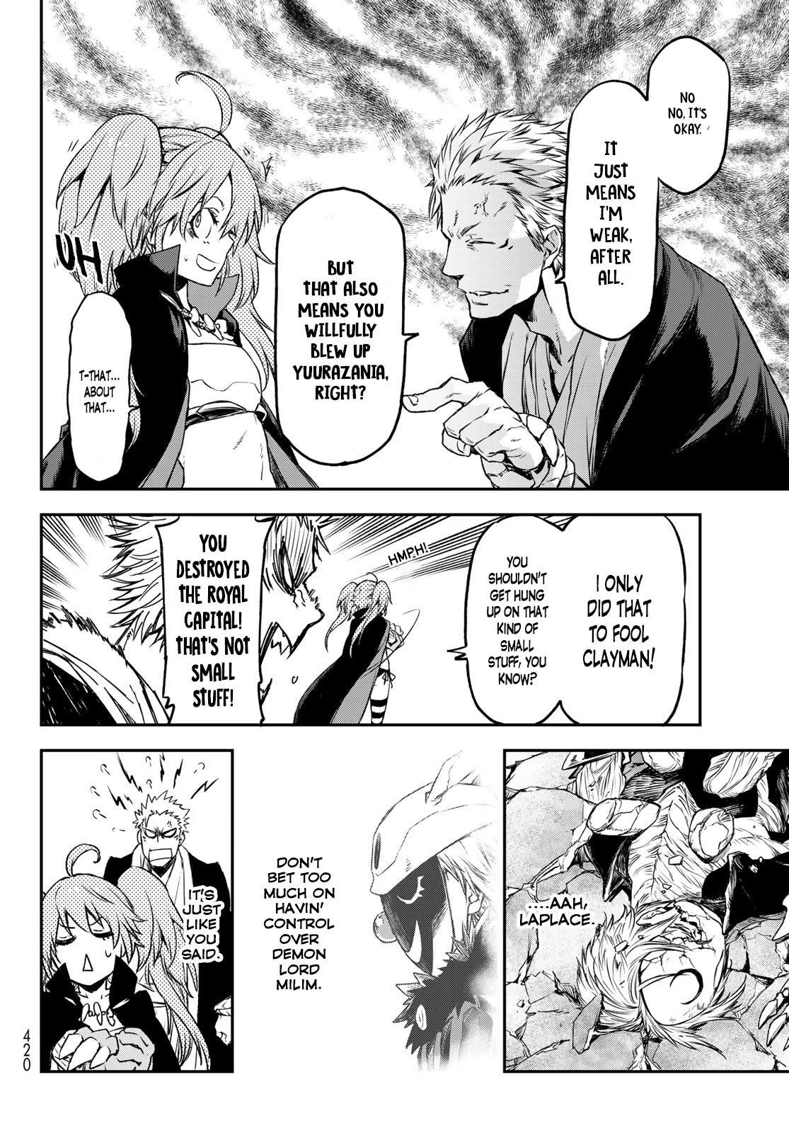 Tensei Shitara Slime Datta Ken Chapter 84 page 34 - Mangakakalots.com