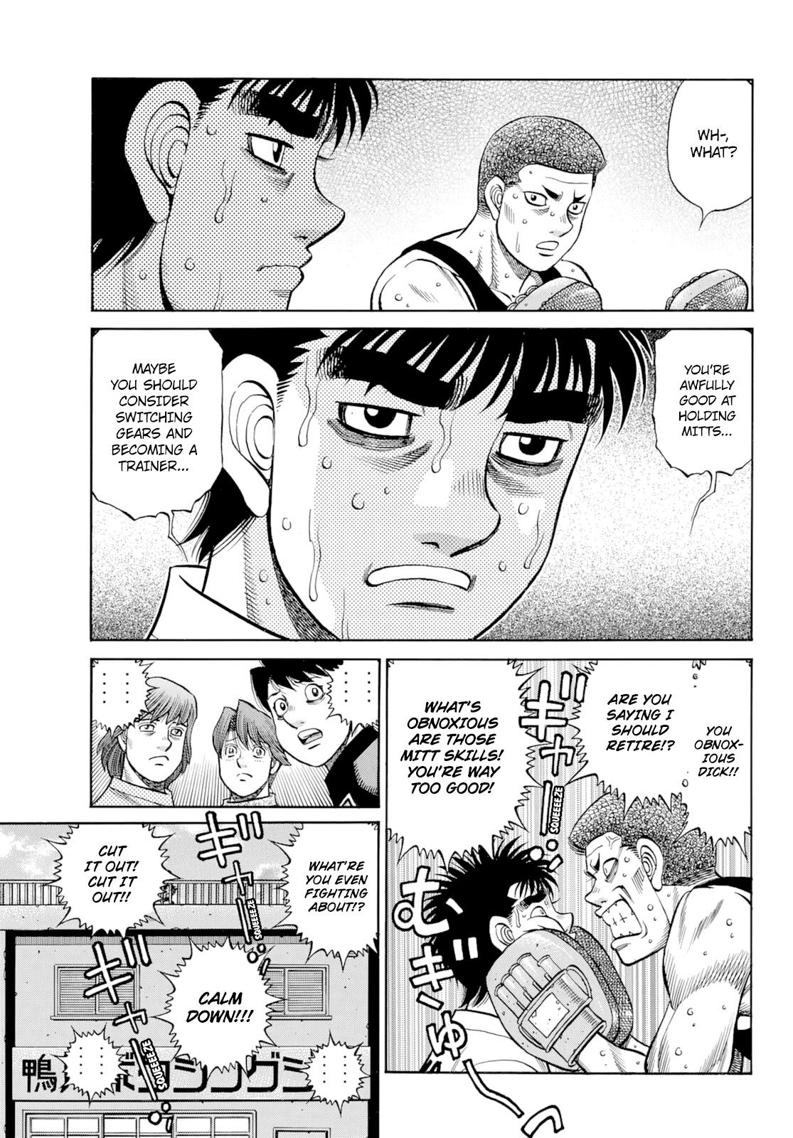 Hajime No Ippo Chapter 1350: Keith's Back page 8 - Mangakakalots.com